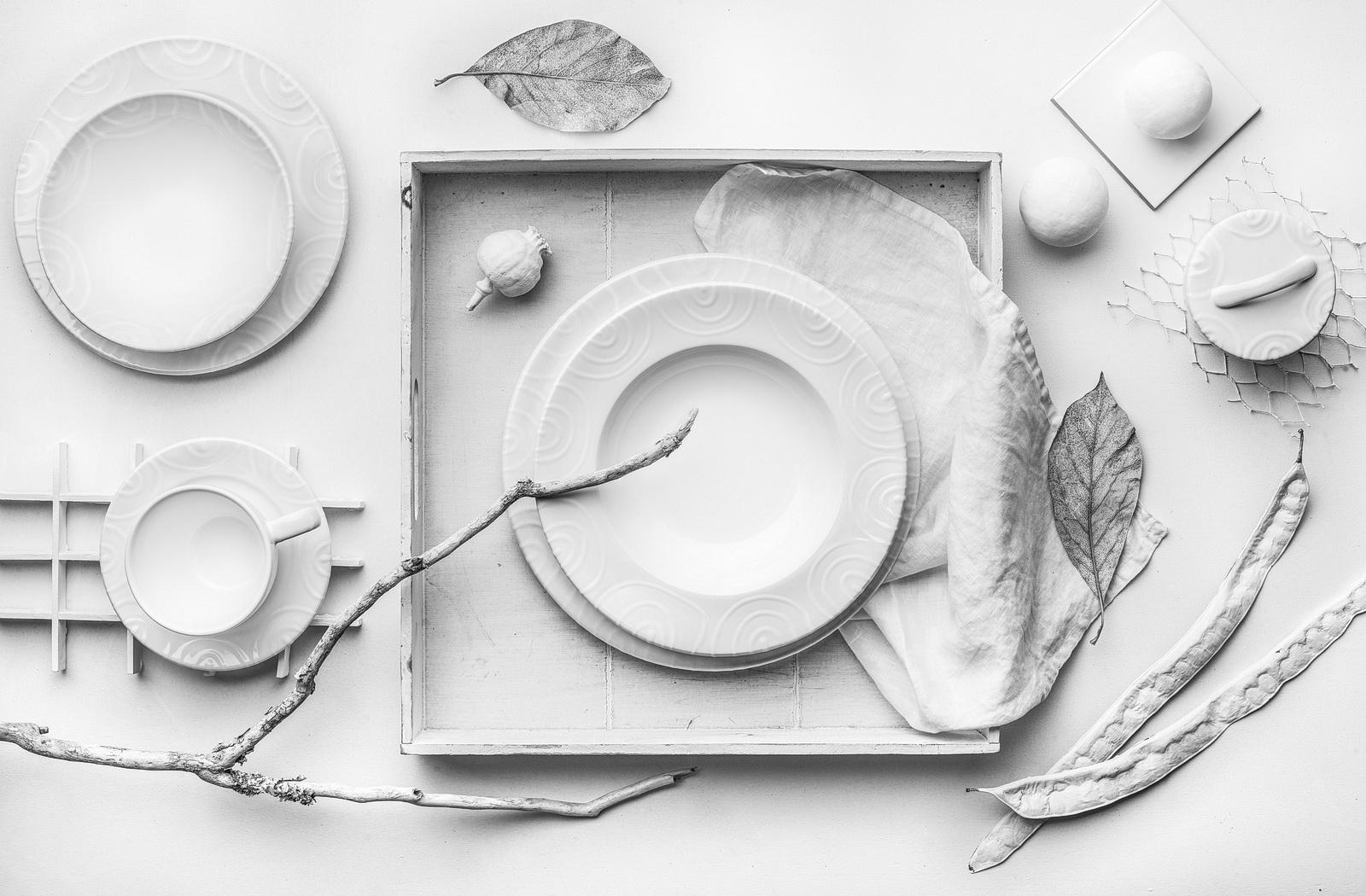 Gmundner Keramik - Weissgeflammt